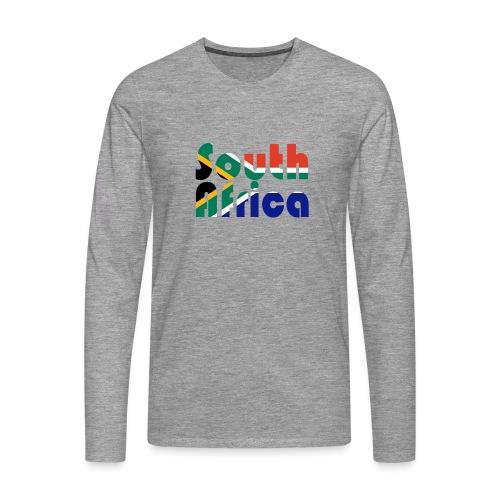 South Africa - Männer Premium Langarmshirt