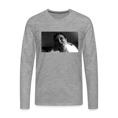 Basse Tshirt - Herre premium T-shirt med lange ærmer