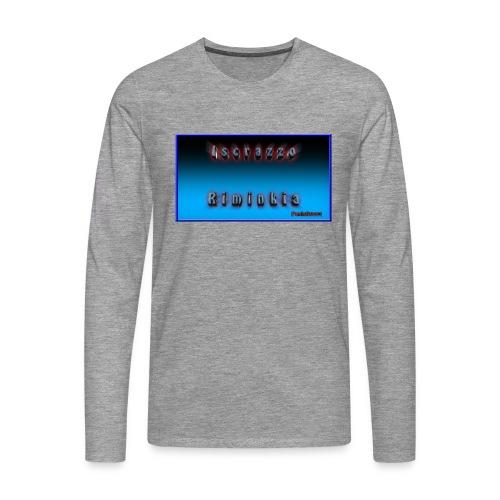 Iscrazzo_riminkia - Maglietta Premium a manica lunga da uomo