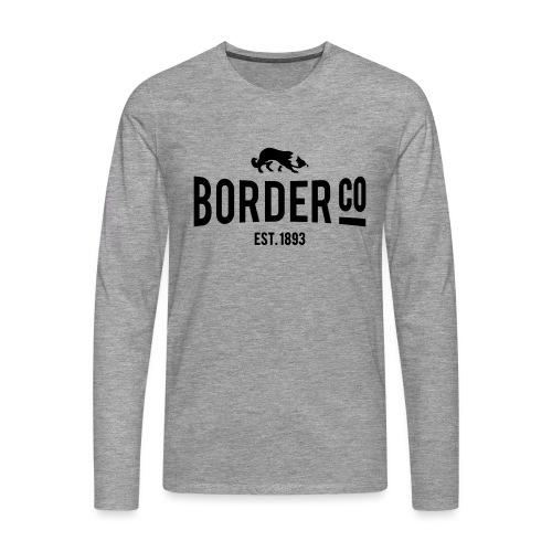 Border Co - T-shirt manches longues Premium Homme