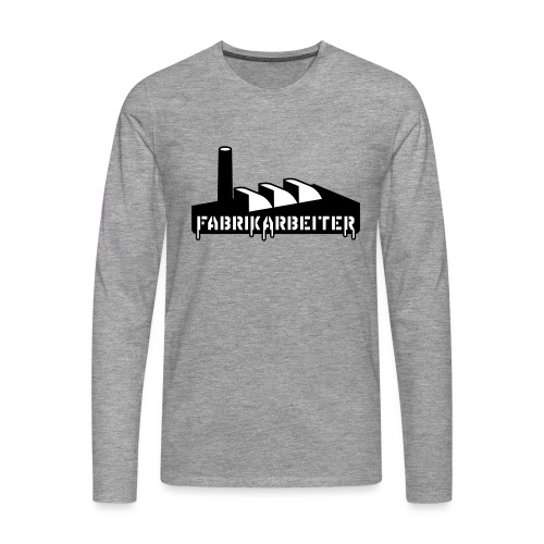 Fabrikarbeiter - Männer Premium Langarmshirt