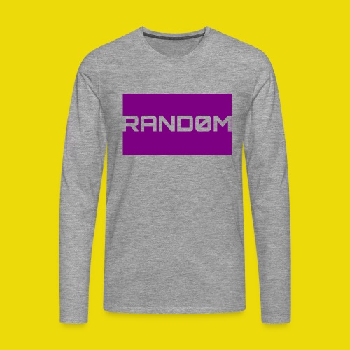 Random Logo - Men's Premium Longsleeve Shirt