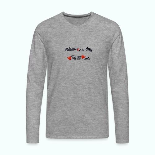 valenteens day - Männer Premium Langarmshirt