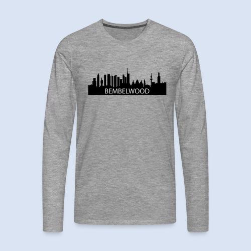 BEMBELwood Frankfurt - Männer Premium Langarmshirt