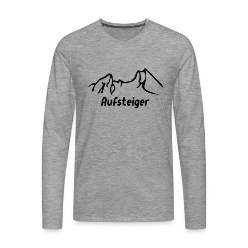 Bergsteiger Shirt - Männer Premium Langarmshirt