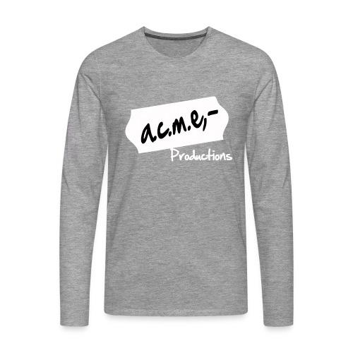 acmeproductionswhite - Männer Premium Langarmshirt