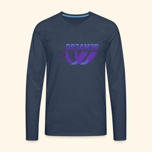 DR3AM3R - Miesten premium pitkähihainen t-paita