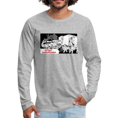 vinyl solutionz - Men's Premium Longsleeve Shirt