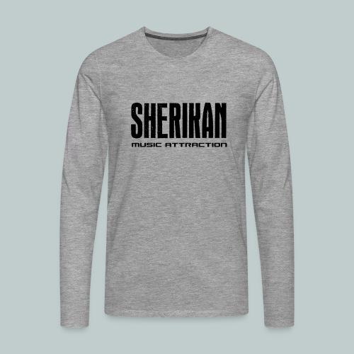 Sherikan - Långärmad premium-T-shirt herr