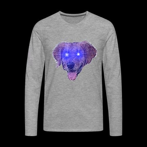 Nebulous Dog - Maglietta Premium a manica lunga da uomo