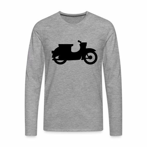 Swallow silhouette - Men's Premium Longsleeve Shirt
