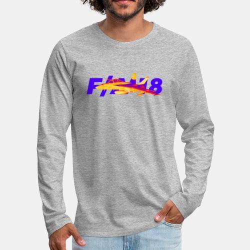 F/A-18 Super Hornet | F 18 | F18 | F/A18 | Hornet - Men's Premium Longsleeve Shirt