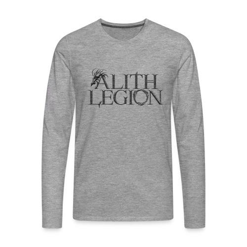 Alith Legion Dragon Logo - Men's Premium Longsleeve Shirt