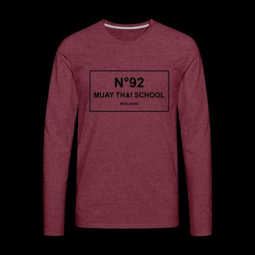 MTS92 N92 - T-shirt manches longues Premium Homme