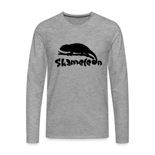 logoskameleon - Männer Premium Langarmshirt