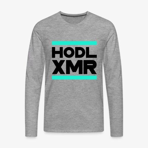 HODL runxmr-b - Men's Premium Longsleeve Shirt