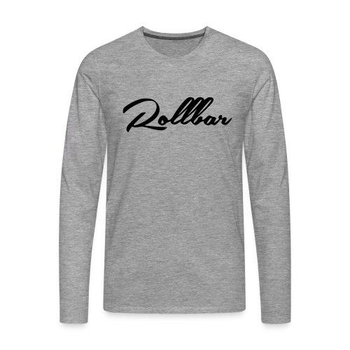 Rollbar - Männer Premium Langarmshirt