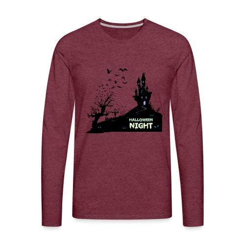 HALLOWEEN NIGHT - Männer Premium Langarmshirt