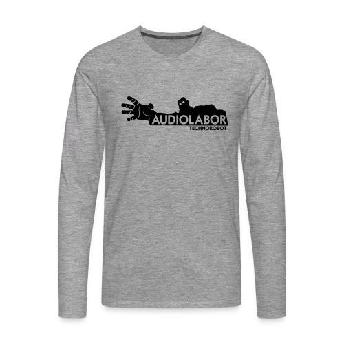 Audiolabor Techno Robot Mens Hoodie - Men's Premium Longsleeve Shirt