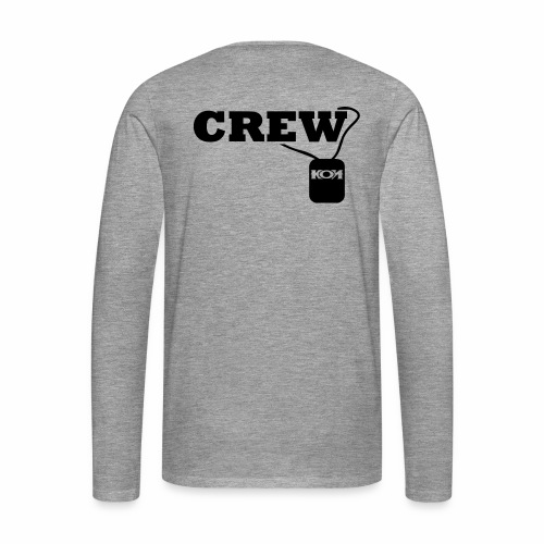 KON - Crew - Männer Premium Langarmshirt