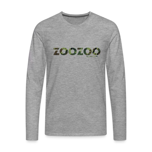 ZooZoo Camoflague Green - Männer Premium Langarmshirt