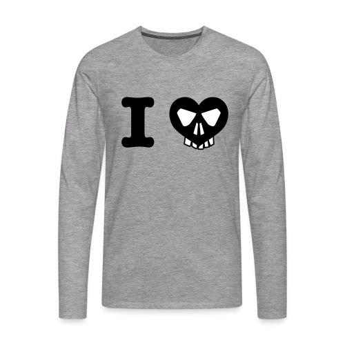 I Love... - Männer Premium Langarmshirt