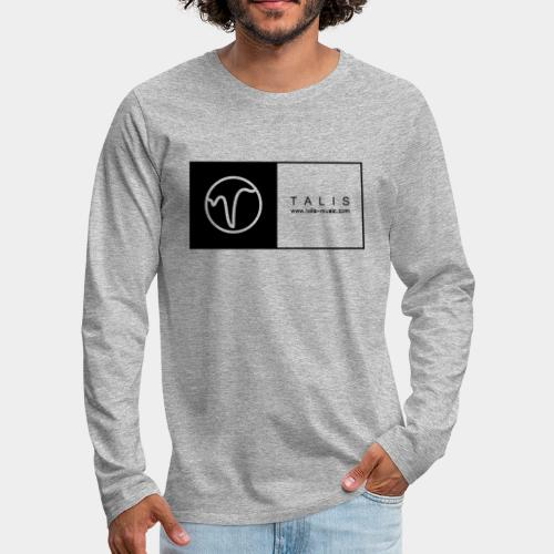 TALIS (2Quadrate) - Männer Premium Langarmshirt