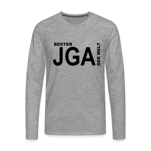 Bester JGA der Welt - Männer Premium Langarmshirt