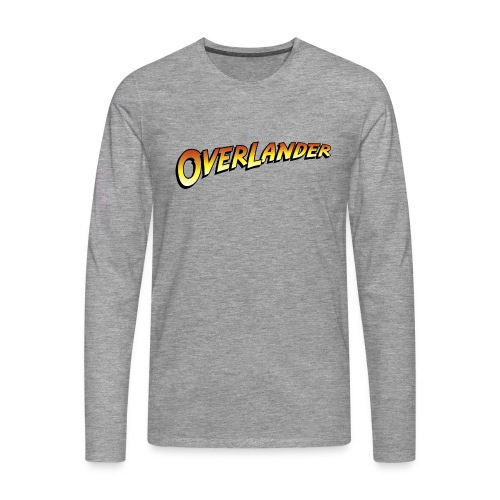 overlander0 - Premium langermet T-skjorte for menn