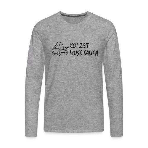 KoiZeit Saufa - Männer Premium Langarmshirt