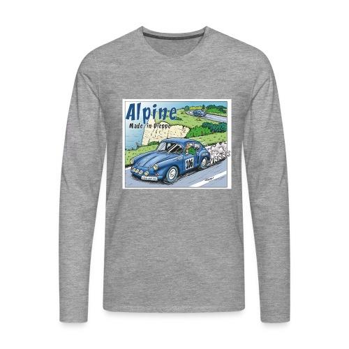 Polete en Alpine 106 - T-shirt manches longues Premium Homme