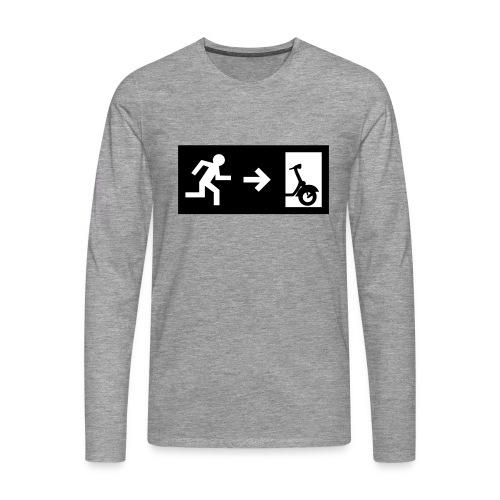 notaufgang - Männer Premium Langarmshirt