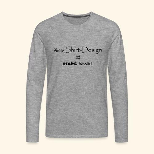 test_shop_design - Männer Premium Langarmshirt