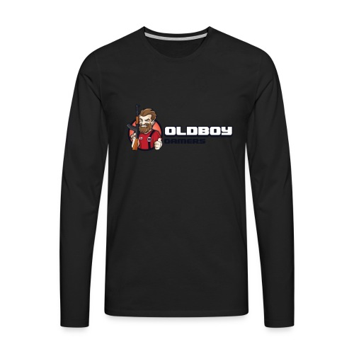 Oldboy Gamers Fanshirt - Premium langermet T-skjorte for menn