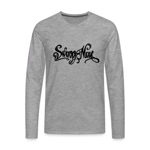 Swagg Man logo - T-shirt manches longues Premium Homme