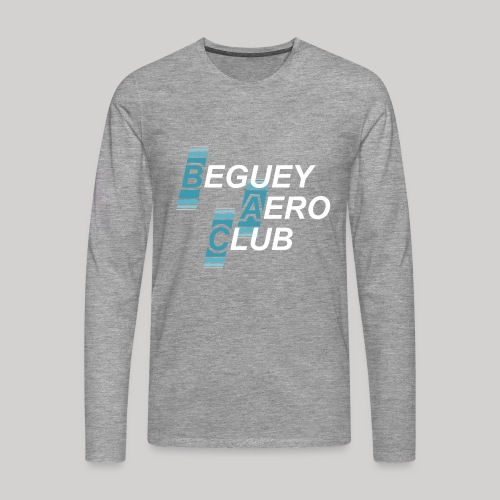 logo 2018 clair - T-shirt manches longues Premium Homme