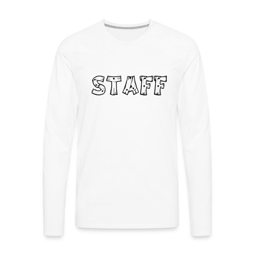 STAFF - Maglietta Premium a manica lunga da uomo
