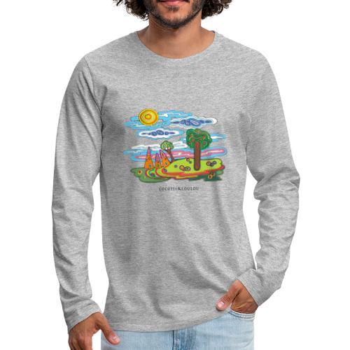 Souvenir d'enfance - T-shirt manches longues Premium Homme