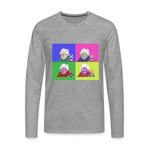 Polete facon warhol - T-shirt manches longues Premium Homme