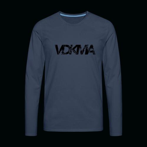 vdkma x 130 x spörts - Miesten premium pitkähihainen t-paita