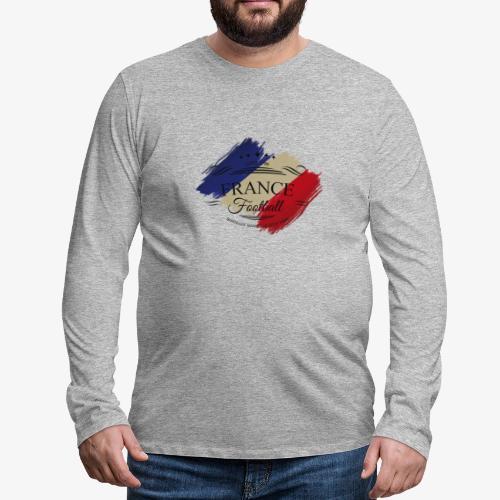 France Football - Männer Premium Langarmshirt