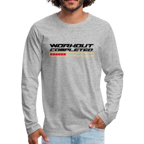 Workout Komplett - Männer Premium Langarmshirt