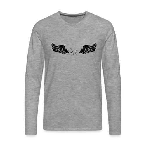 Seraph Wings Logo - T-shirt manches longues Premium Homme