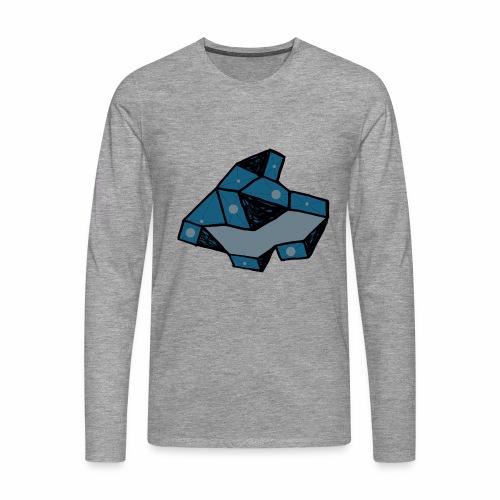 dot rock - Mannen Premium shirt met lange mouwen