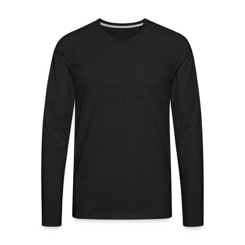 Think Outside The Box - Men's Premium Longsleeve Shirt