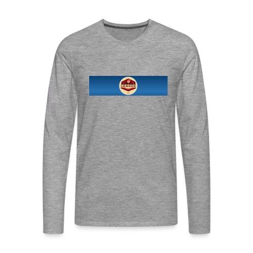CatturaLogo - Maglietta Premium a manica lunga da uomo