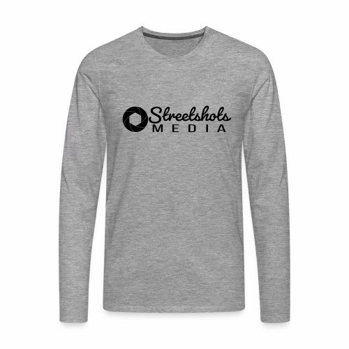 Streetshots Weißspread - Männer Premium Langarmshirt