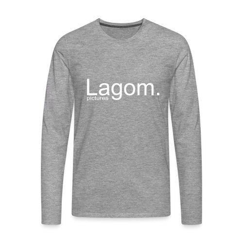 Lagom Pictures Logo Light - Men's Premium Longsleeve Shirt