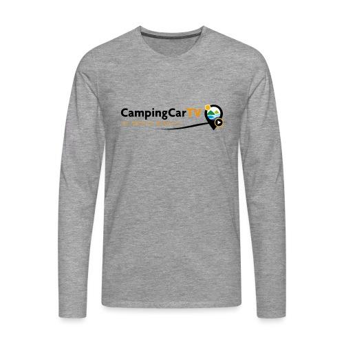 LOGO CCTV - T-shirt manches longues Premium Homme