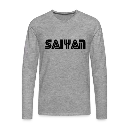 saiyan - Men's Premium Longsleeve Shirt